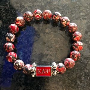 Jewelry - Kappa Alpha Psi bead bracelet
